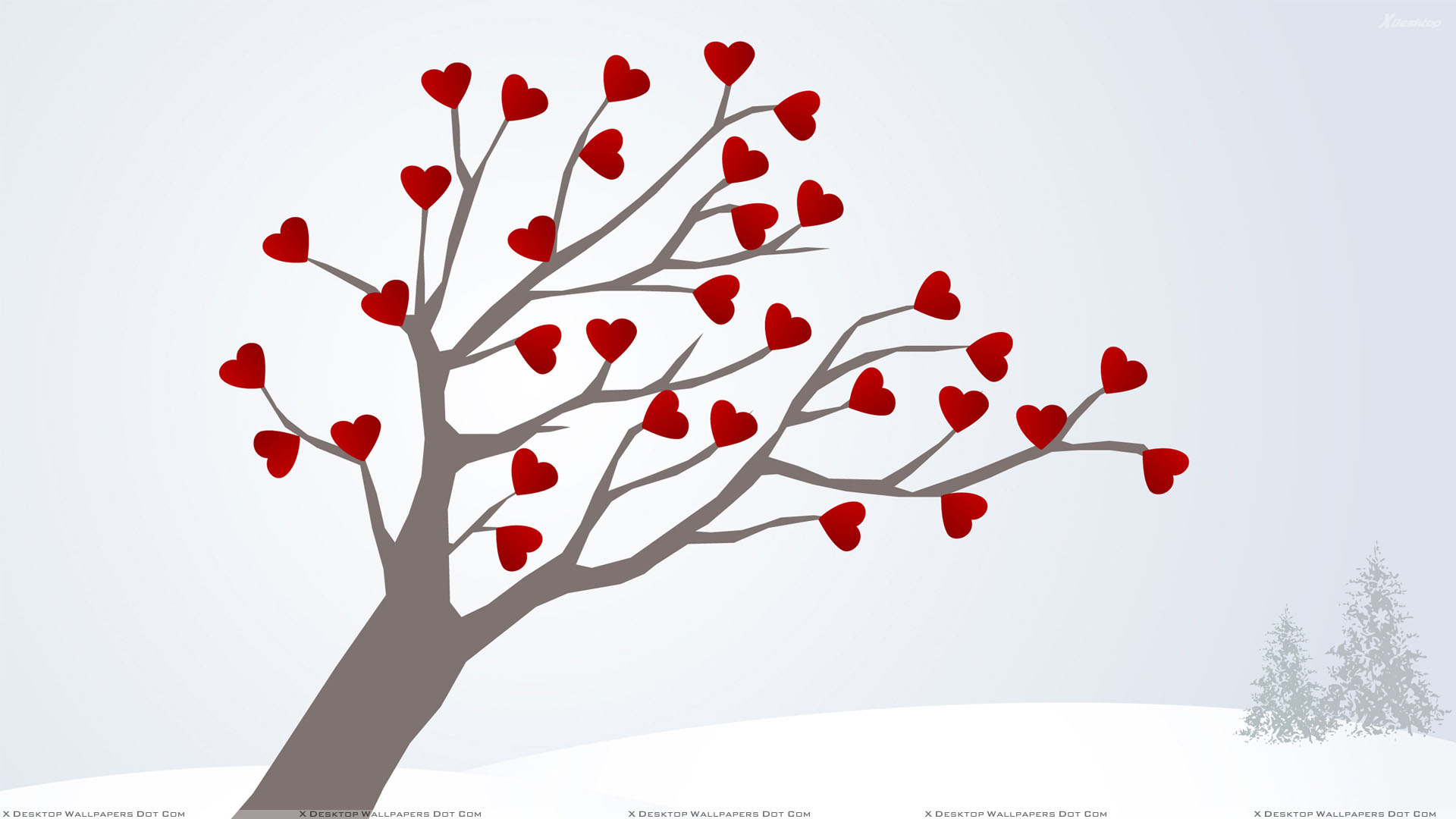 Love Tree Wallpapers : Tree Of Love Wallpaper
