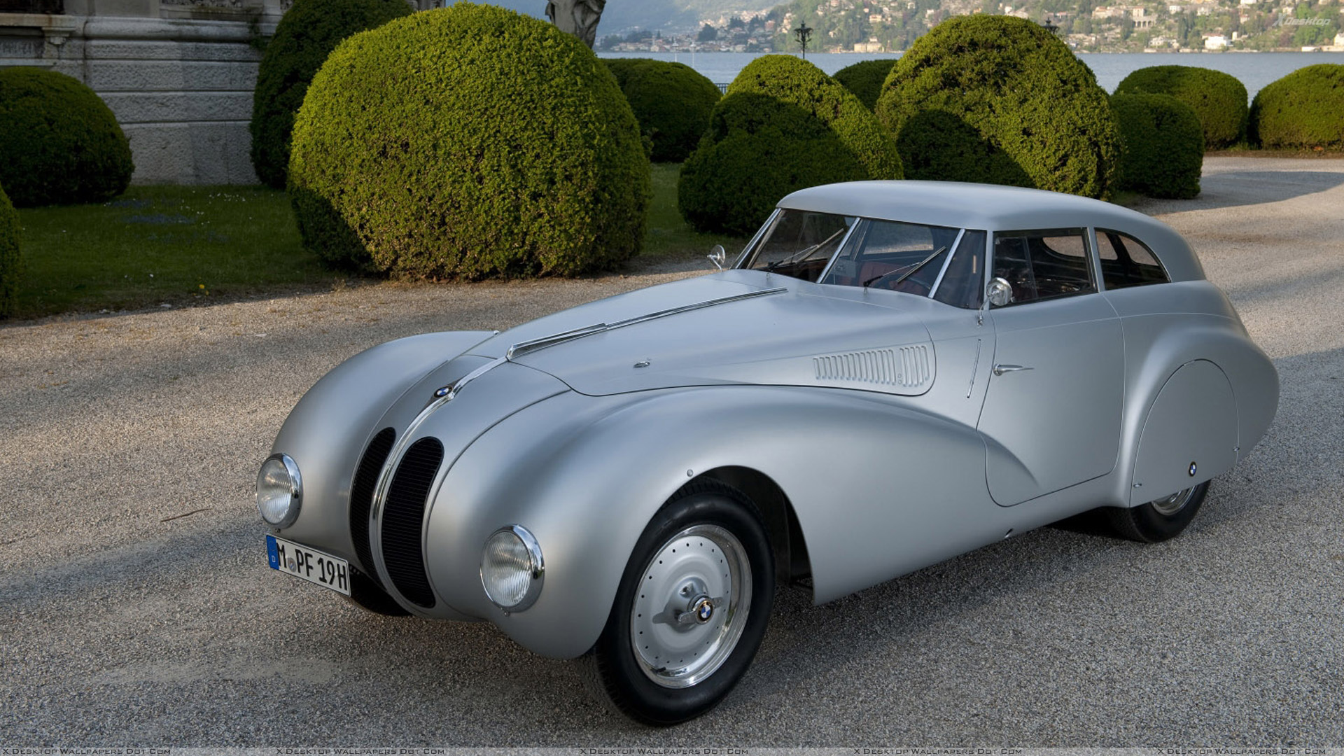 1940 BMW 328 Kamm Coupe In Silver At GoodWood Festival Of Speed ...