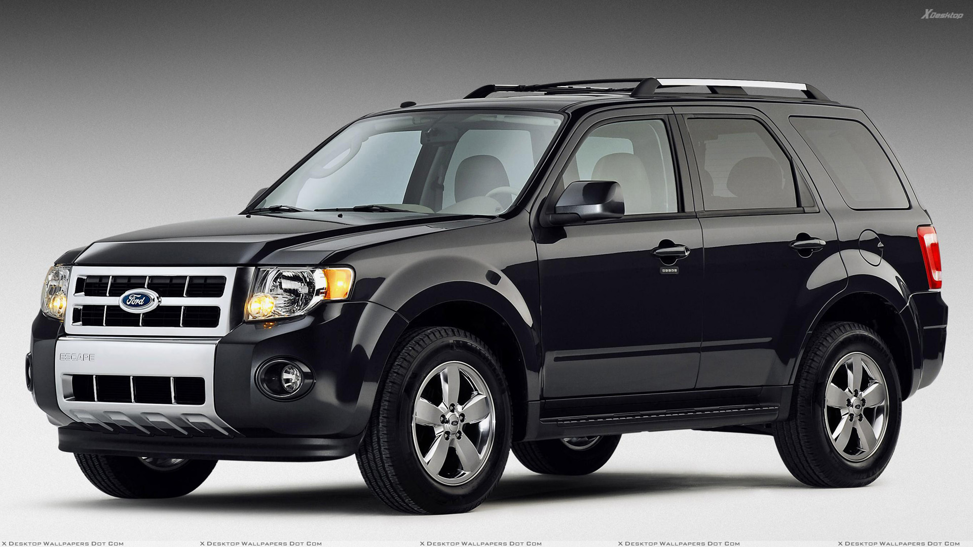 2009 ford escape side front in black wallpaper. Black Bedroom Furniture Sets. Home Design Ideas