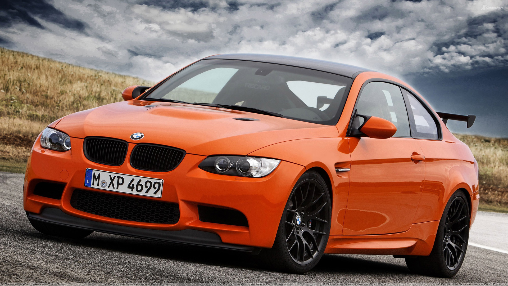 2011 Bmw M3 Gts In Orange At Goodwood Festival Of Speed Wallpaper