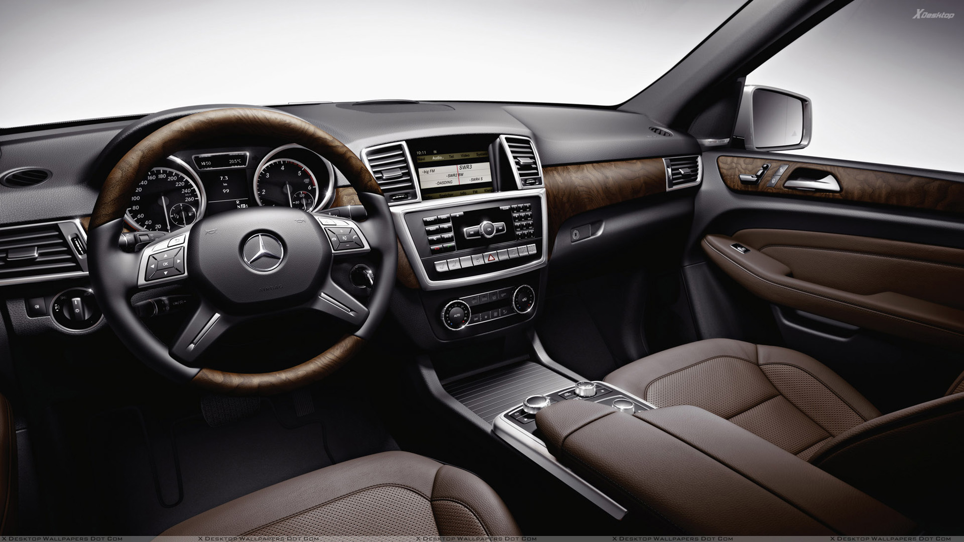2012 mercedes benz m class accessories interior wallpaper