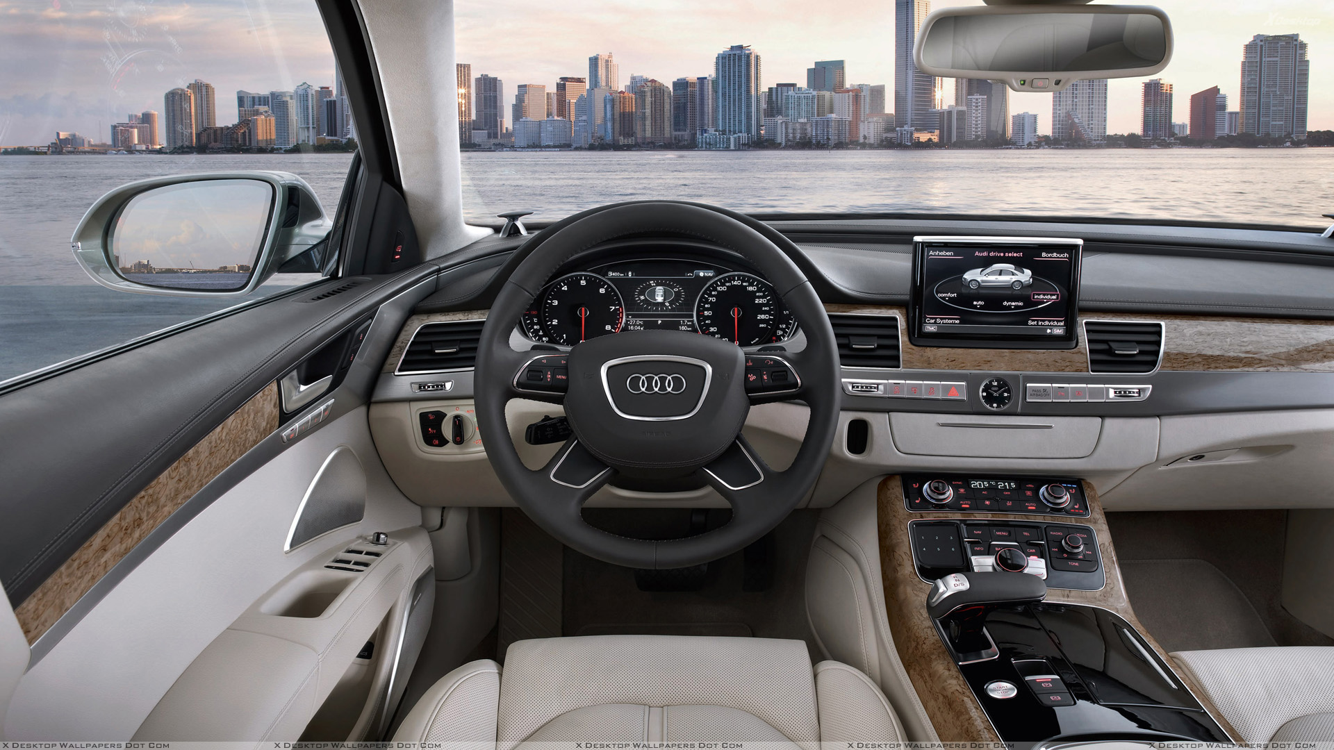 dashboard of 2011 audi a8 wallpaper. Black Bedroom Furniture Sets. Home Design Ideas
