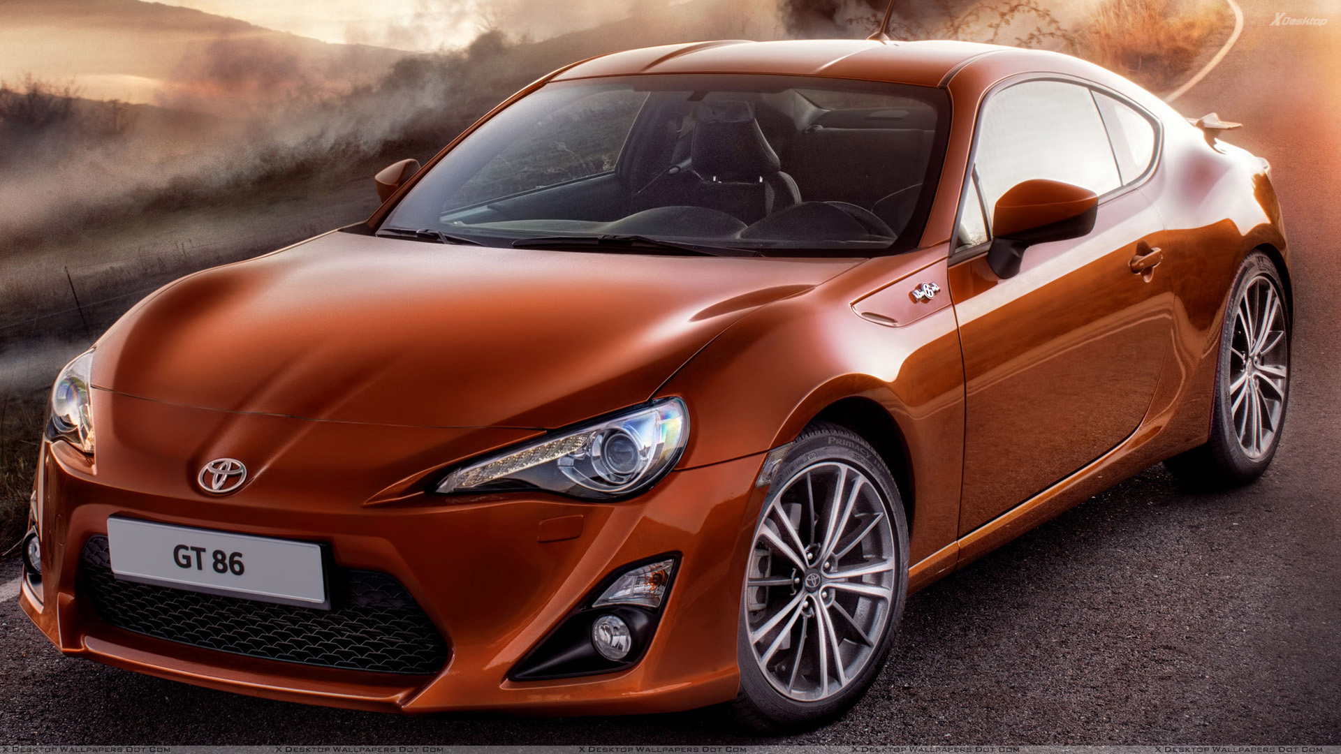 front pose 2012 toyota gt 86 in orange wallpaper. Black Bedroom Furniture Sets. Home Design Ideas