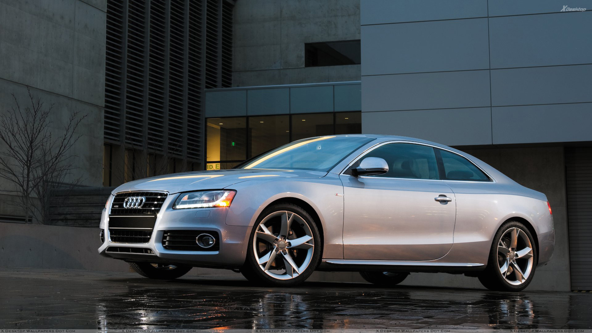 2012 audi a5 silver 200 interior and exterior images