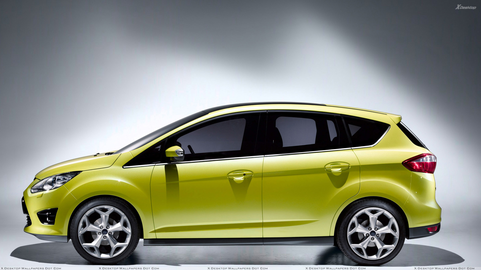 side pose of 2010 ford c max in green wallpaper. Black Bedroom Furniture Sets. Home Design Ideas