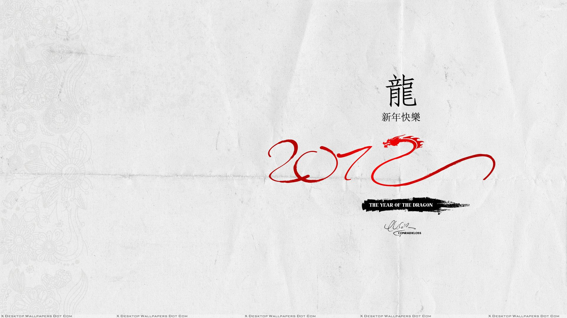 you are viewing wallpaper titled 2012 chinese new year