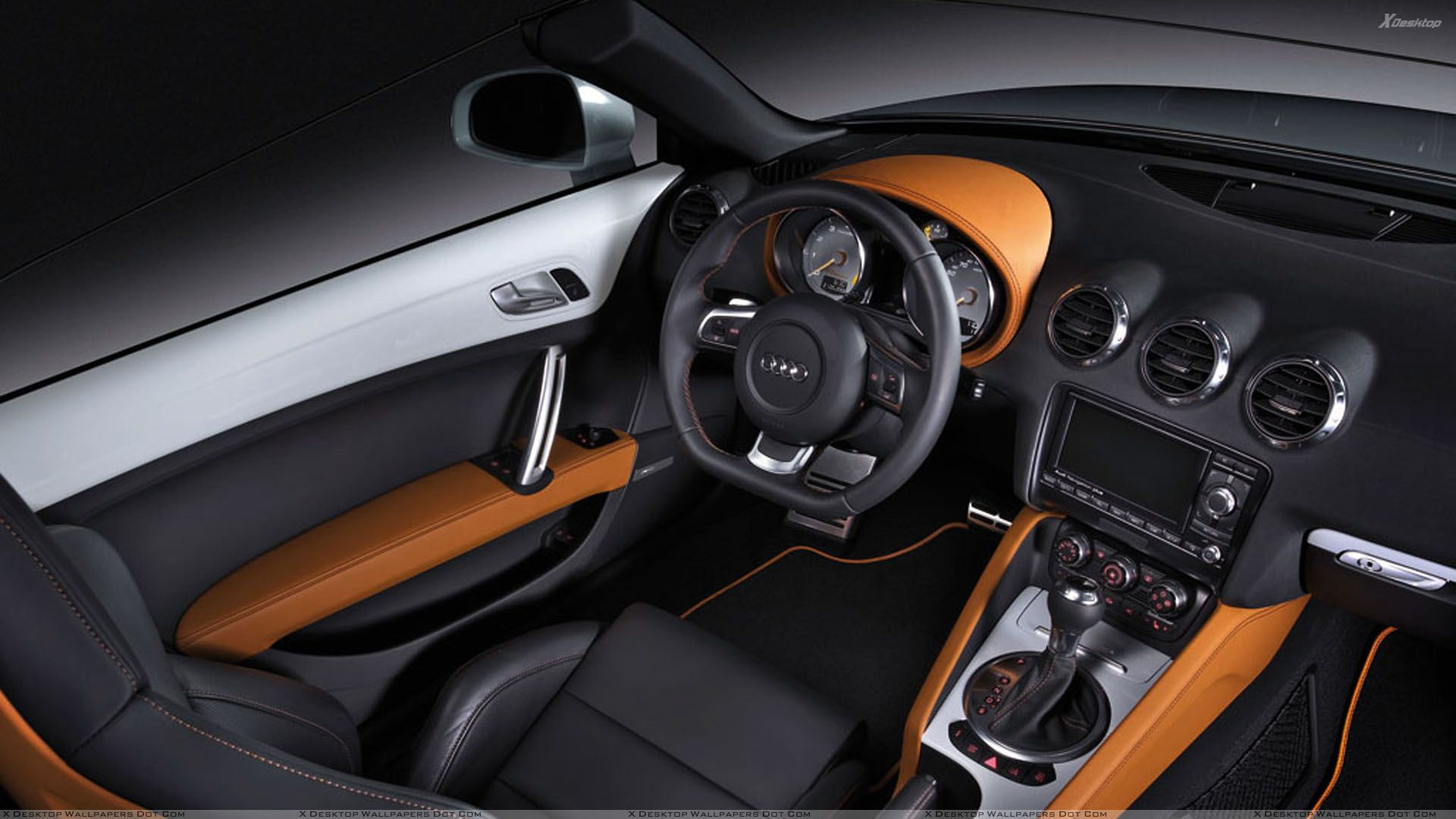 Audi tt clubsport quattro interior wallpaper for Audi tt interieur