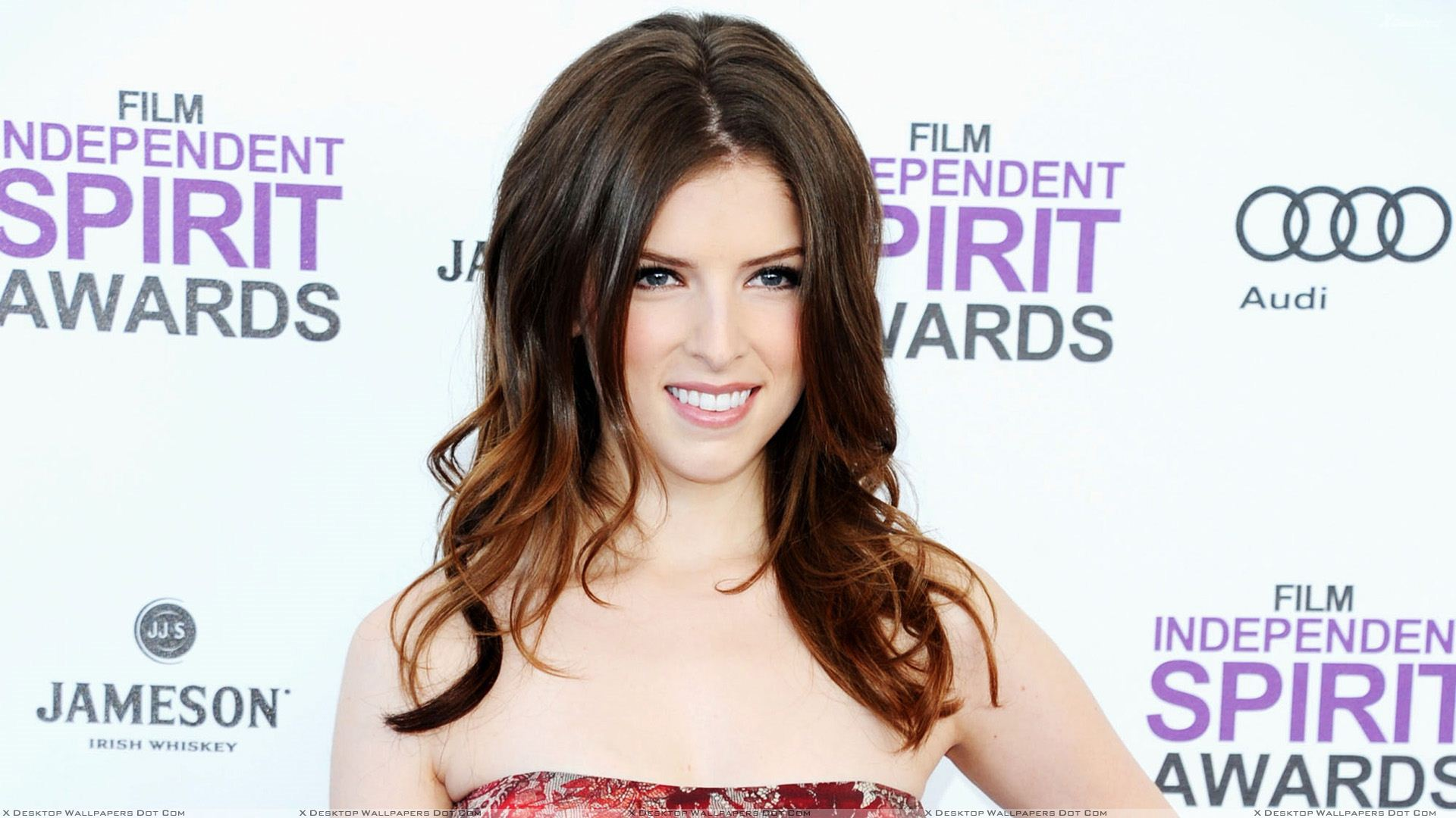 You Are Viewing Wallpaper Titled Beautiful Smiling Pose Of Anna Kendrick At Independent