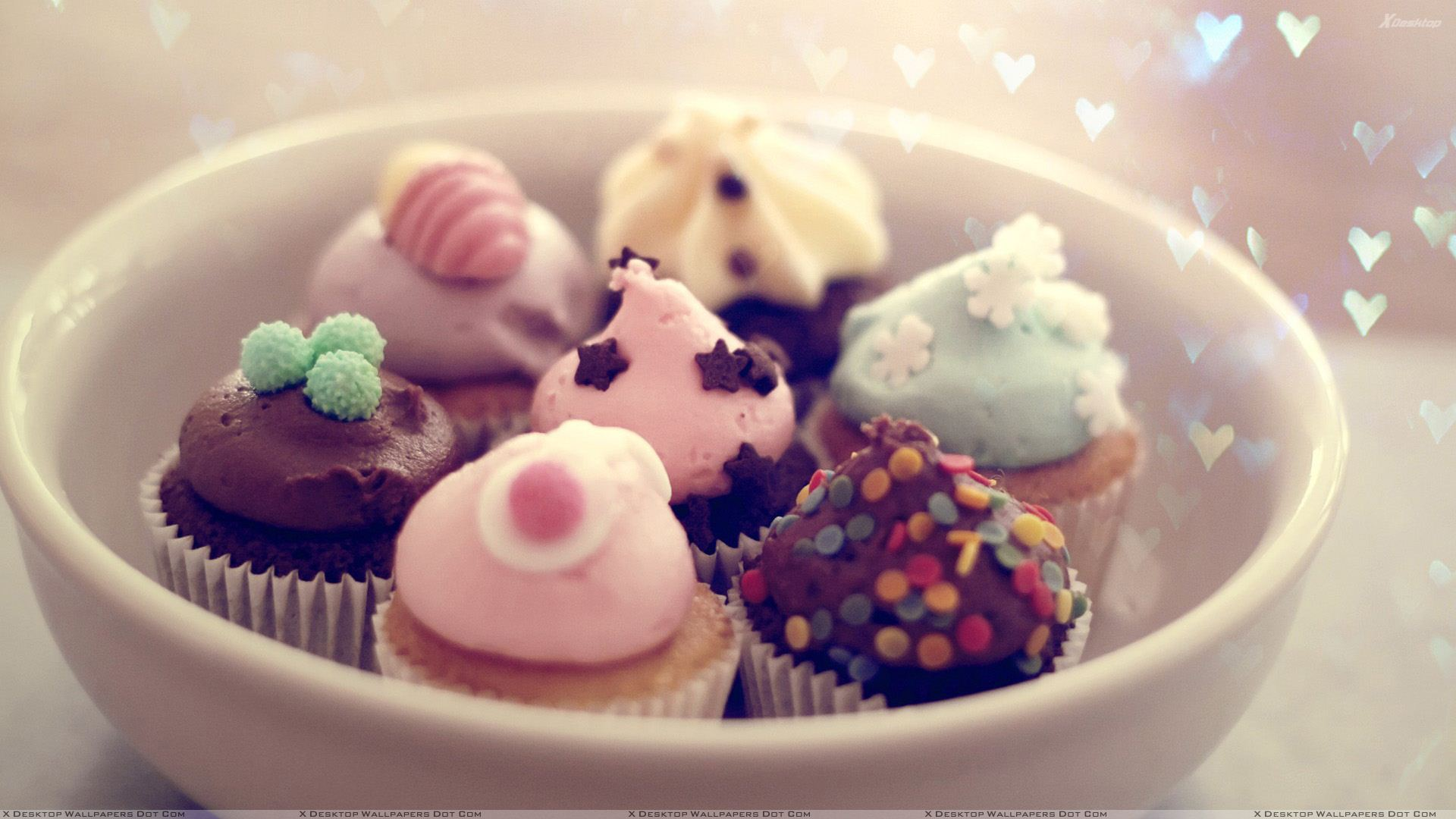 bowl of sweets wallpaper