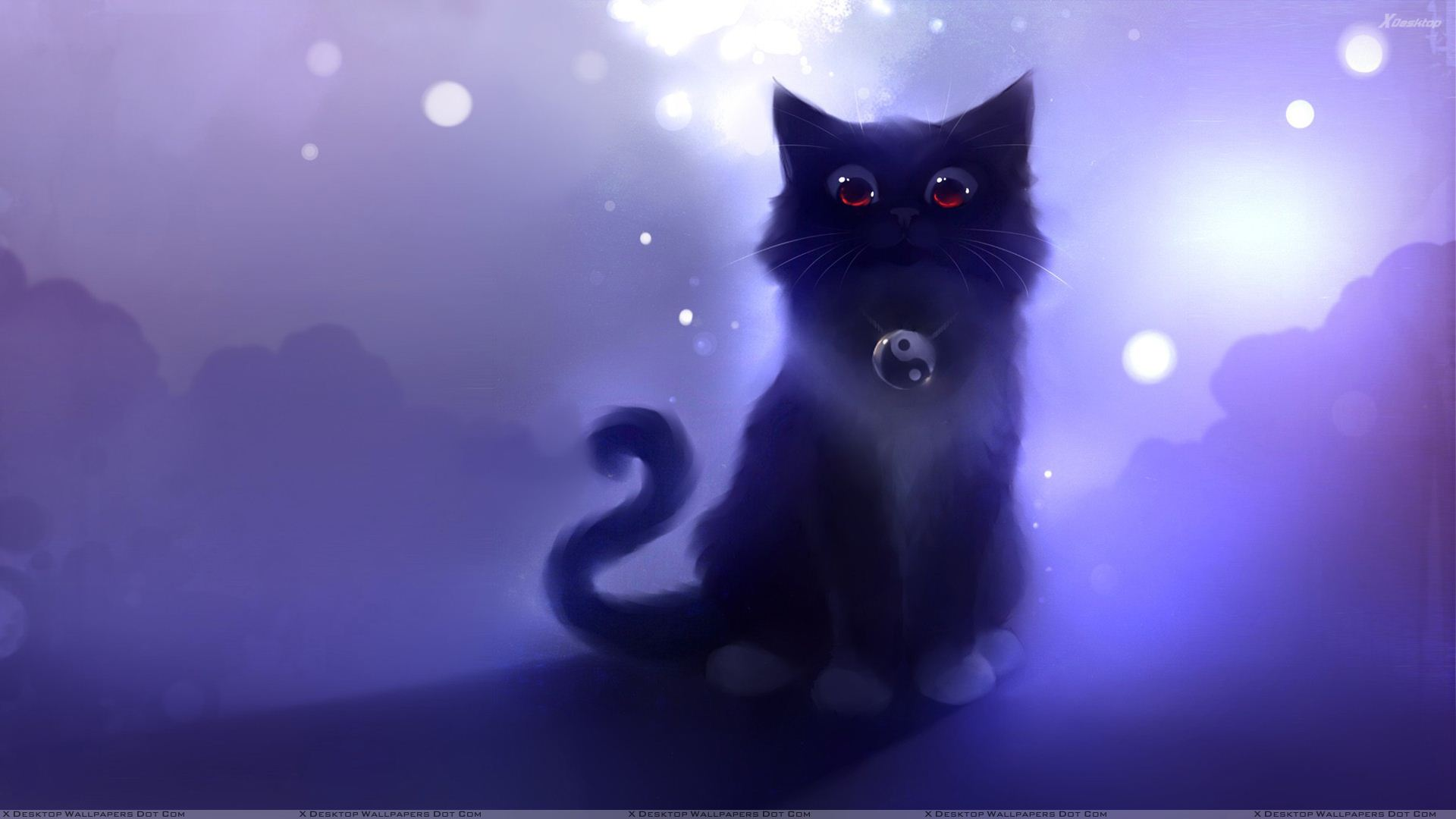 You Are Viewing Wallpaper Titled Cartoon Black Cat