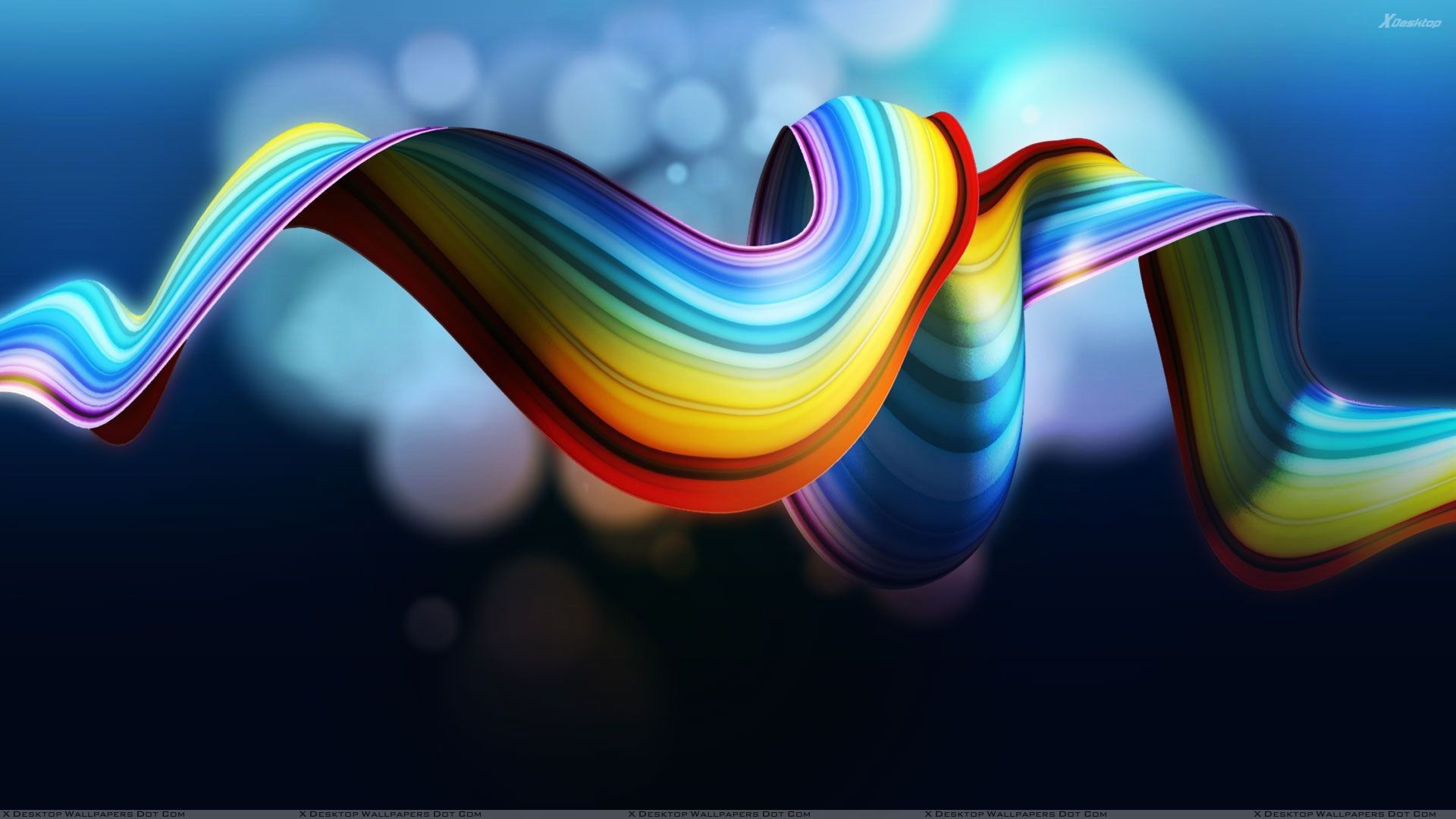 Cool Rainbow Abstract Download 23