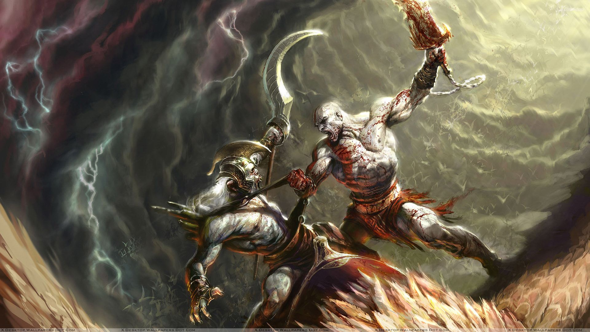 God Of War Ii – Time To Death Wallpaper