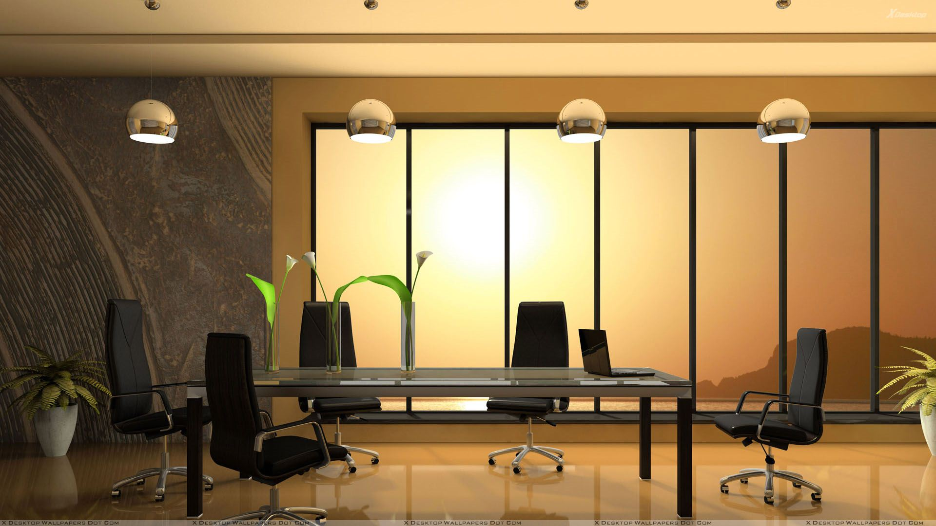 Meeting room in office wallpaper for Cool office rooms