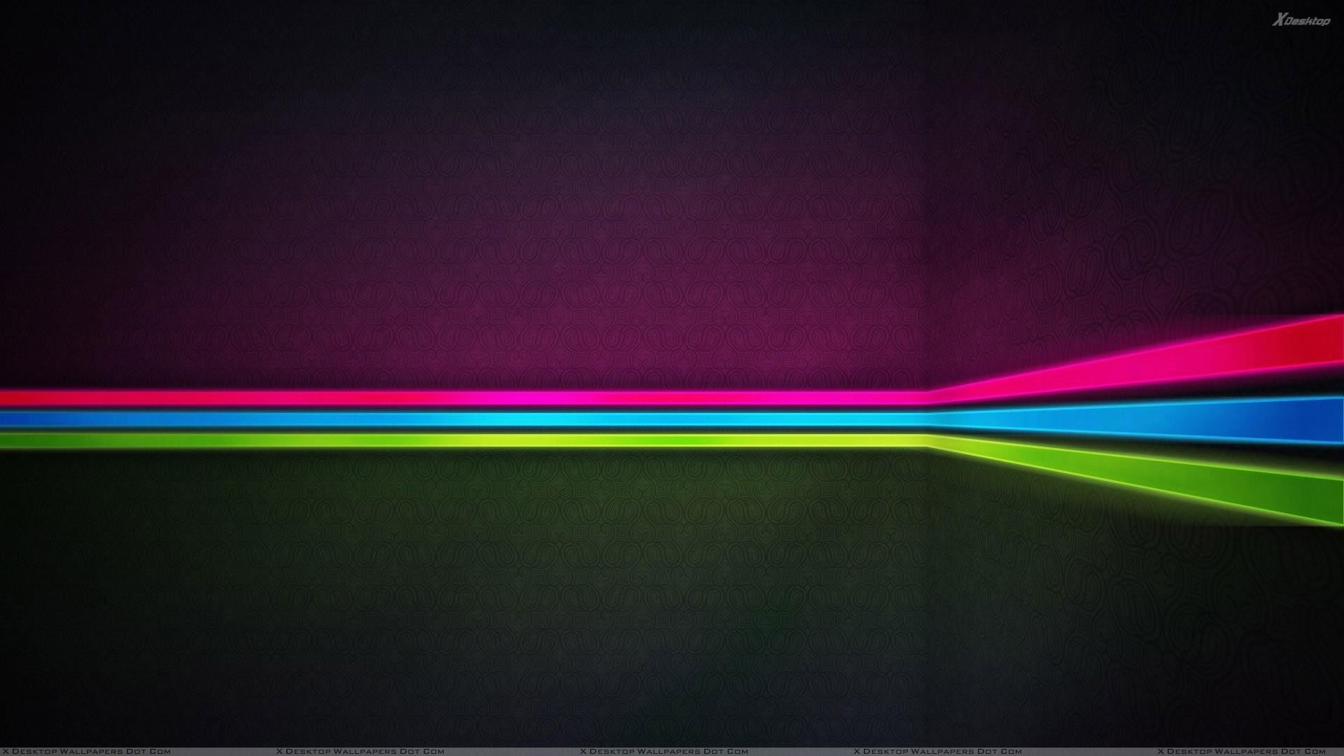 pink blue green line abstract wallpaper