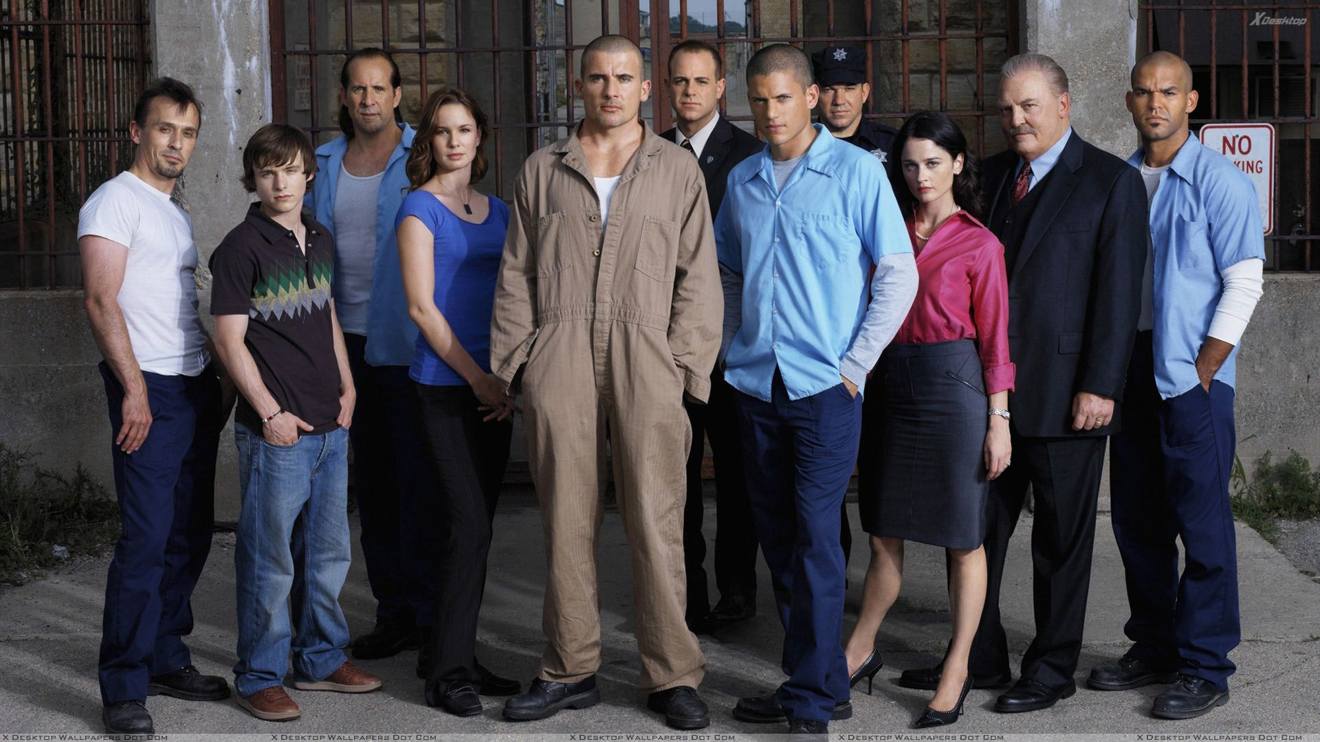 Prison Break All Characters Wallpaper