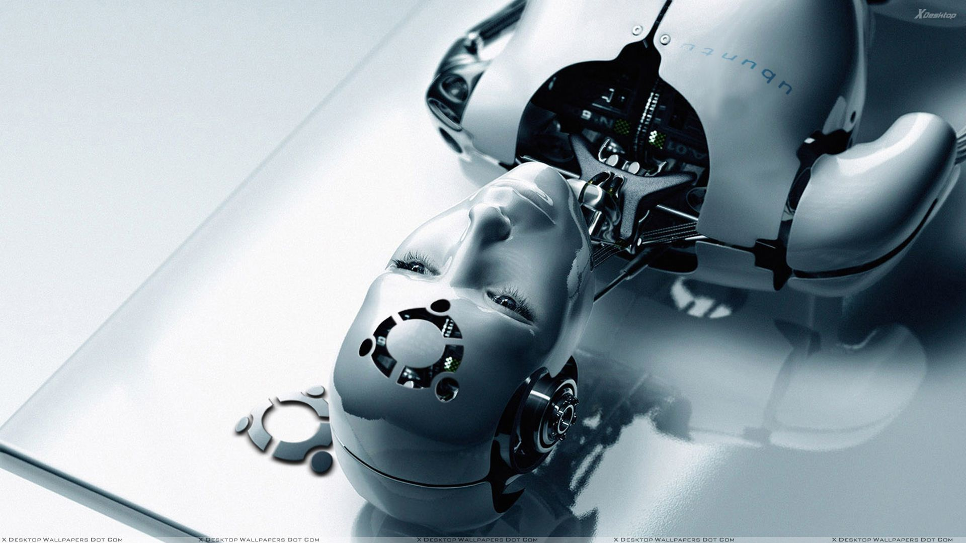 Robots Love Ubuntu Wallpaper
