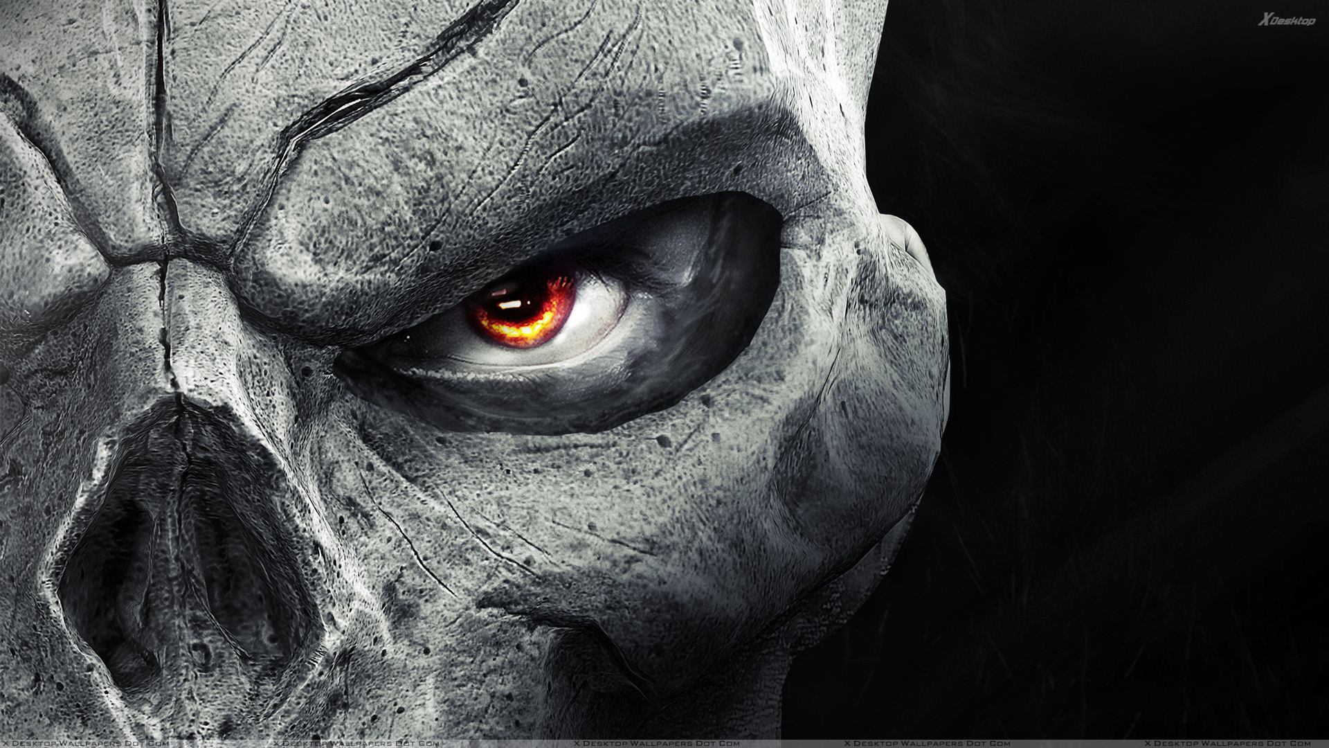 You Are Viewing Wallpaper Titled Darksiders II Half Face