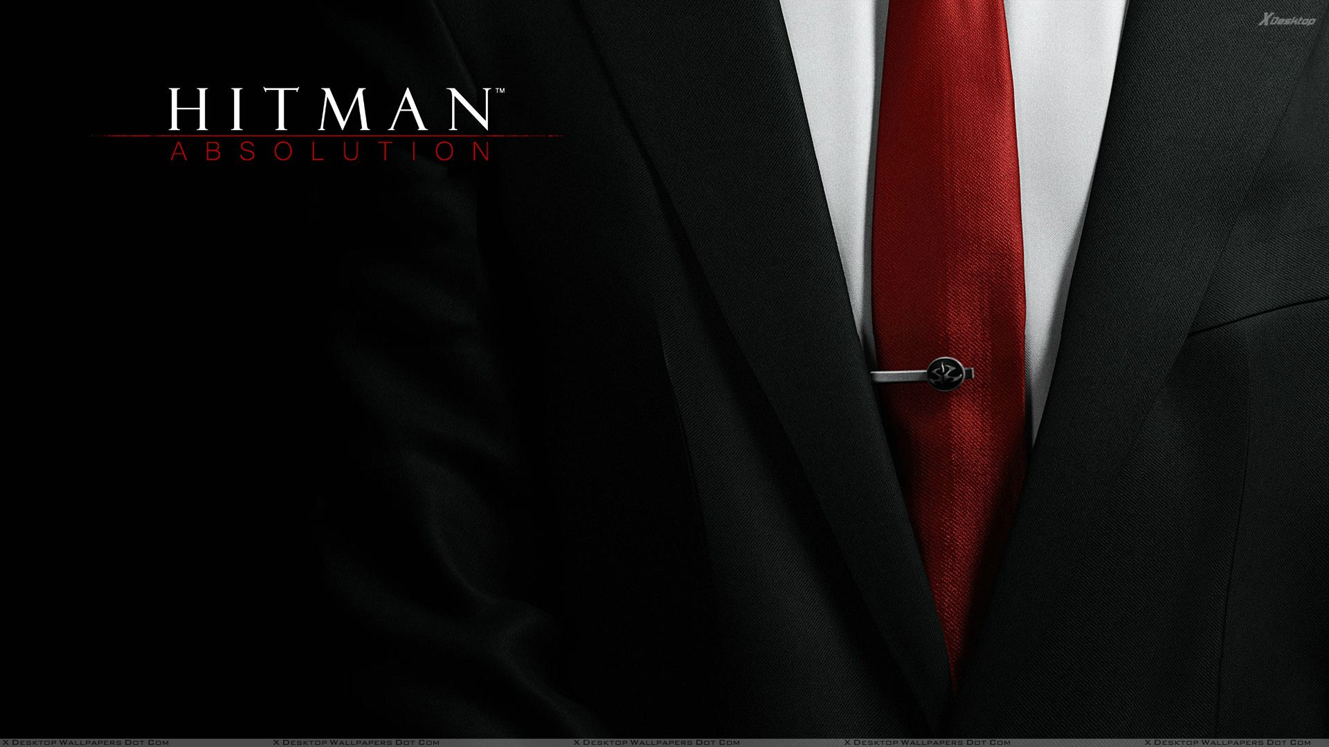 hitman absolution red tie wallpaper