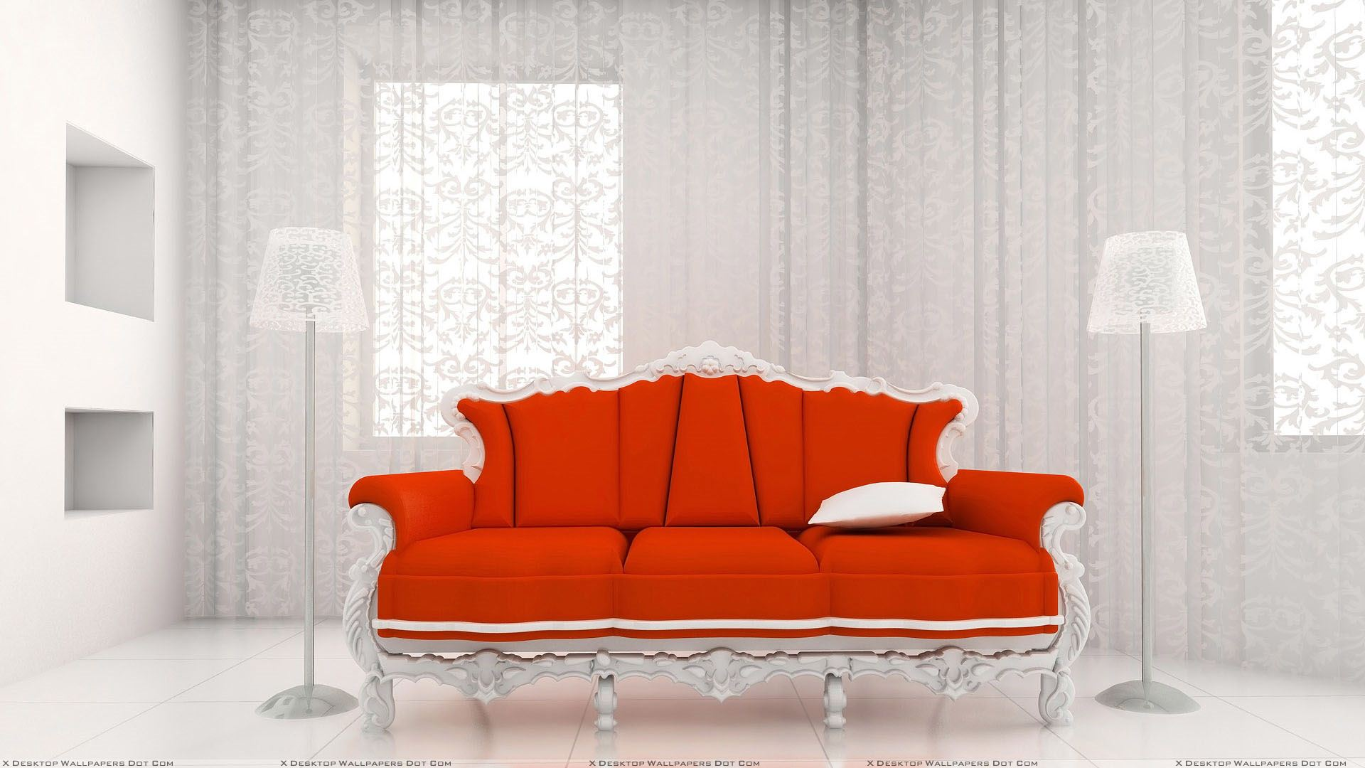 Red Sofa Wallpapers Photos Images In Hd