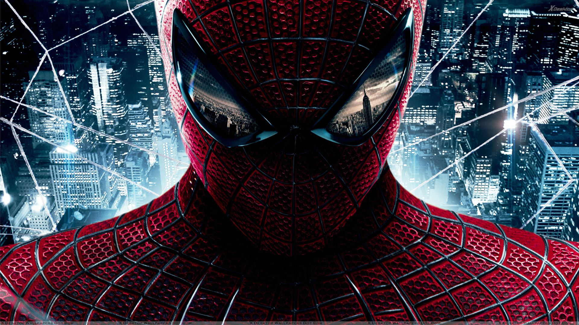 The Amazing Spider-Man – Red Dress Face Closeup Wallpaper