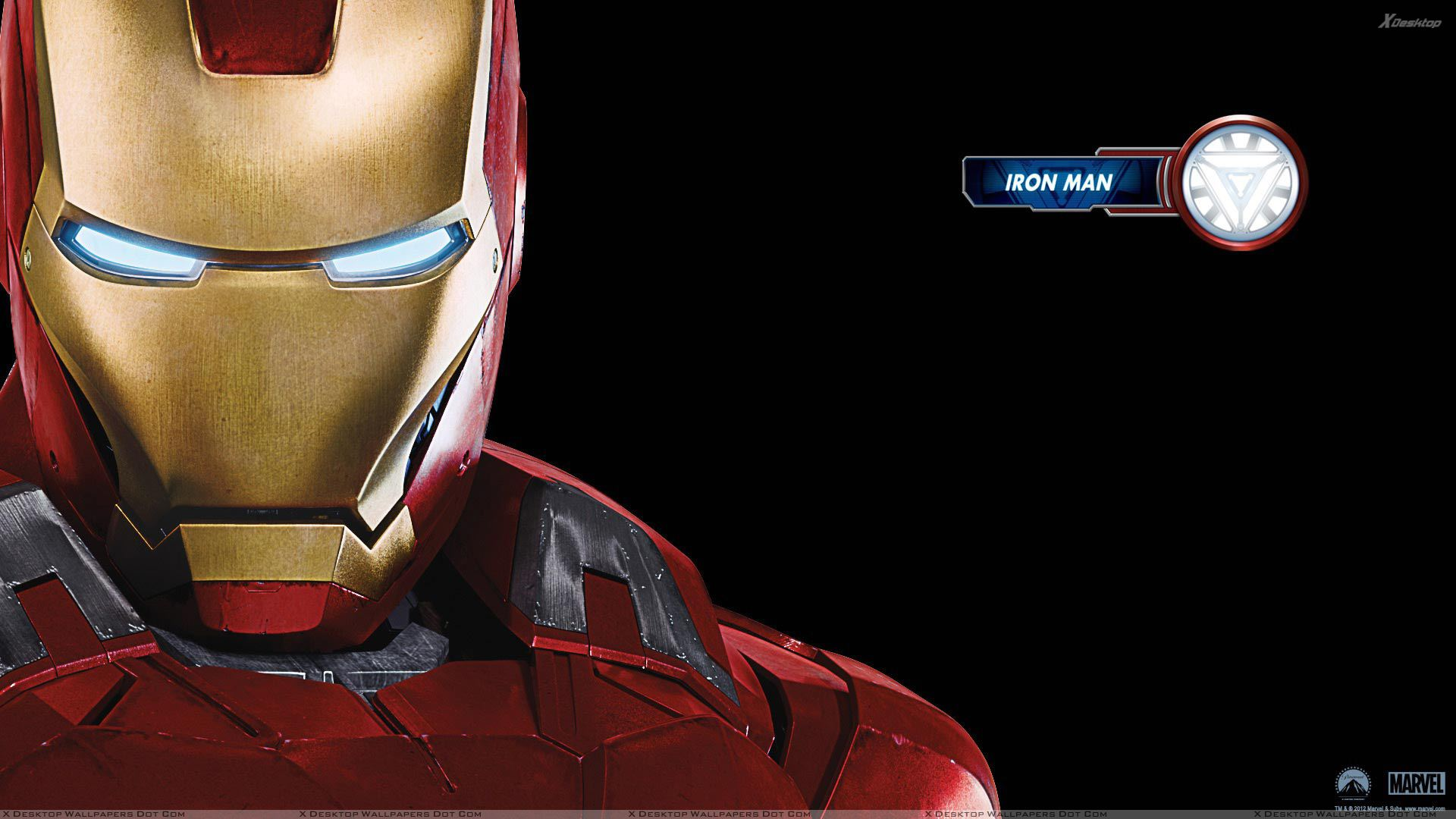 The Avengers – Iron Man Robert Downey Jr. Face Closeup ...