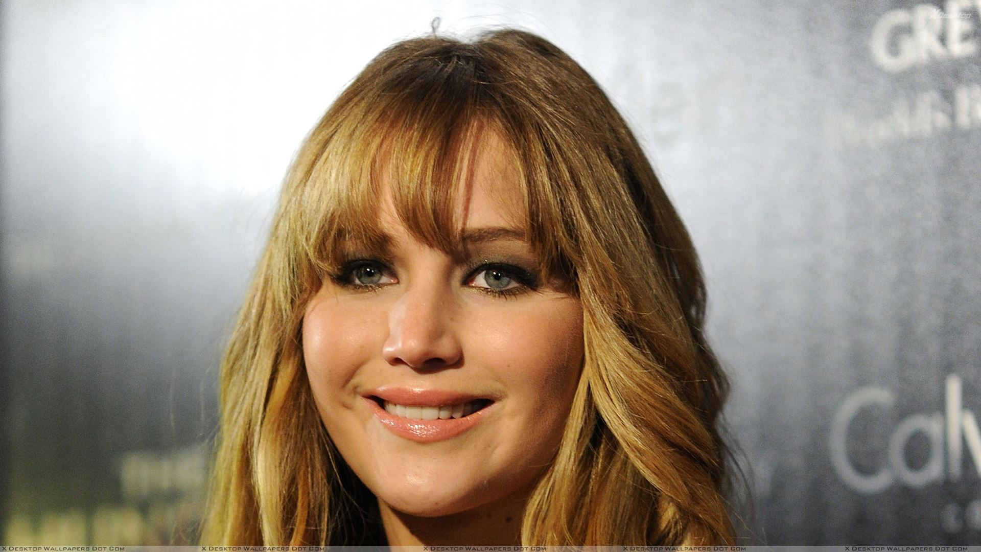 Jennifer Lawrence Face Closeup In New York At Hunger Games Screening