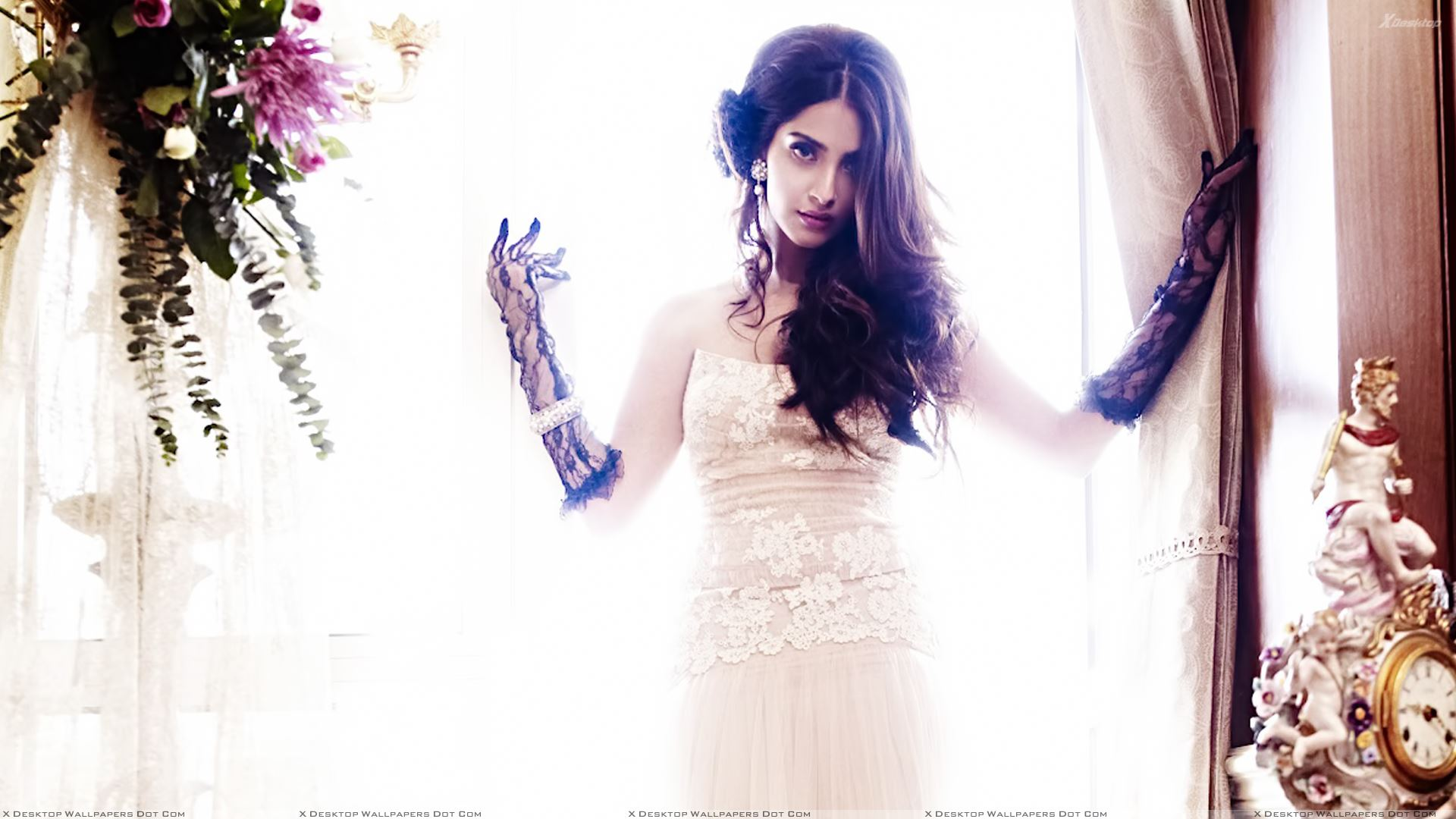 sonam kapoor for shehla khans ss 2012 collection wallpaper