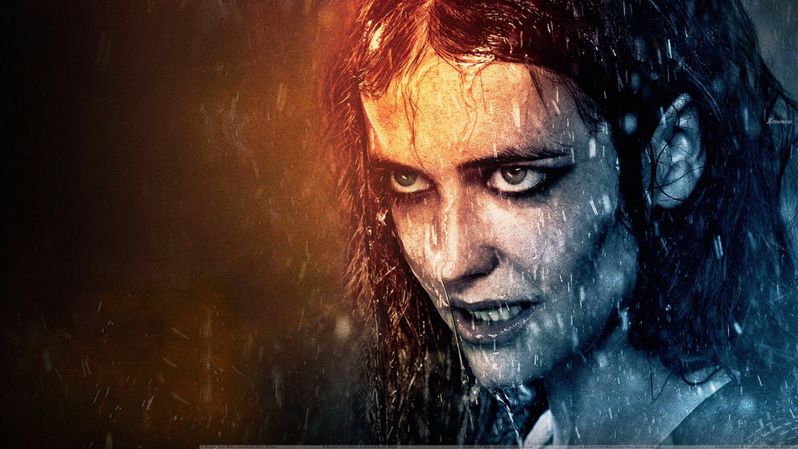 Eva Green Looking Angry In 300 Rise Of An Empire Wallpaper