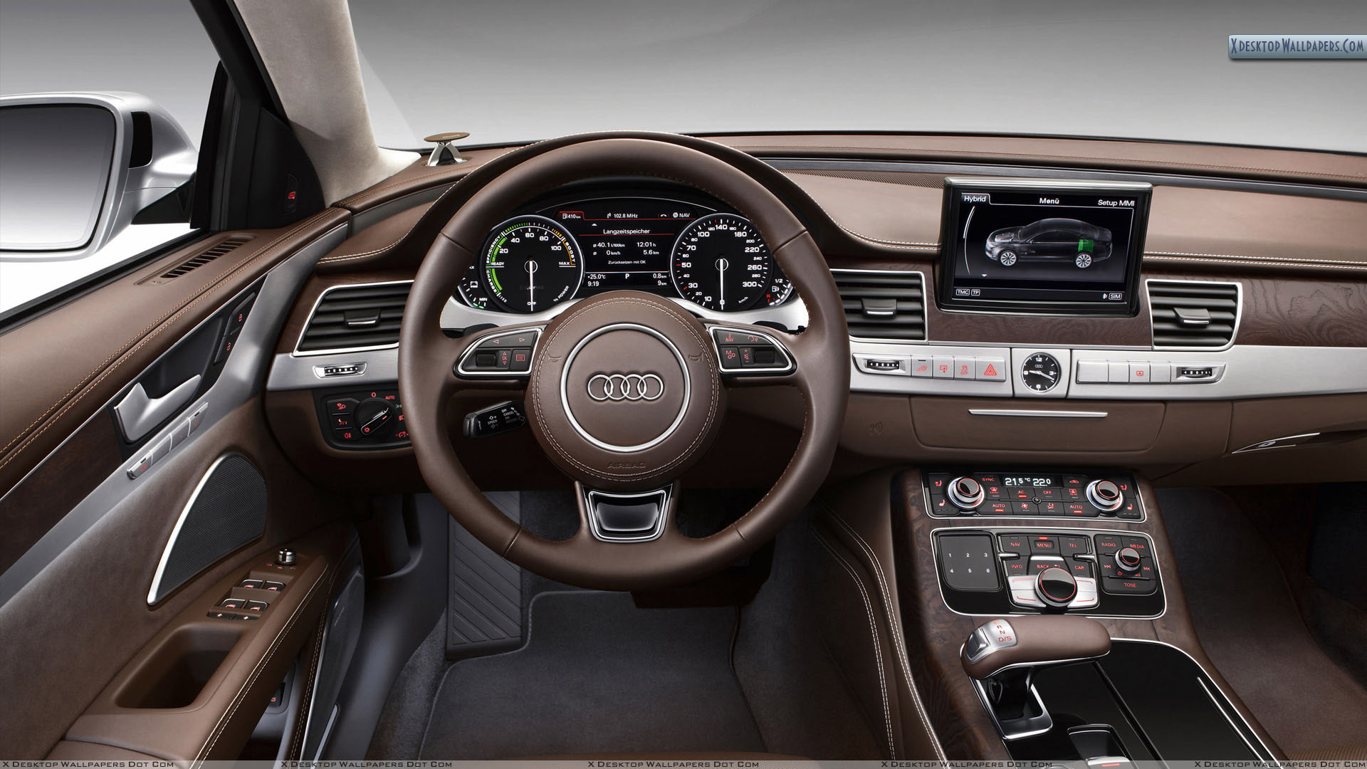 Brown Interior Of 2012 Audi A8 Hybrid Wallpaper Wiring Diagram Q3 You