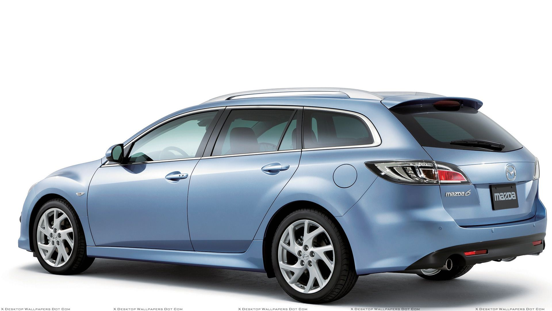2008 Mazda 6 Wagon Side Pose In Blue Wallpaper Wiring Diagram You Are Viewing Titled