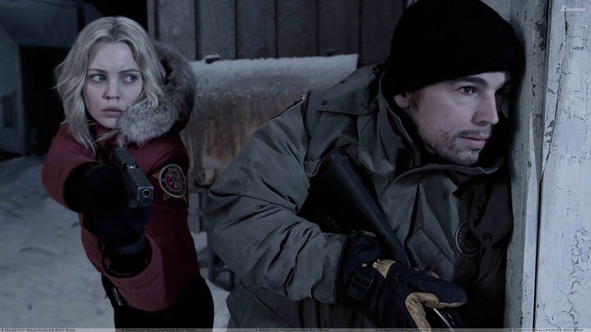 30 Days Of Night Josh Hartnett And Melissa George Wallpaper