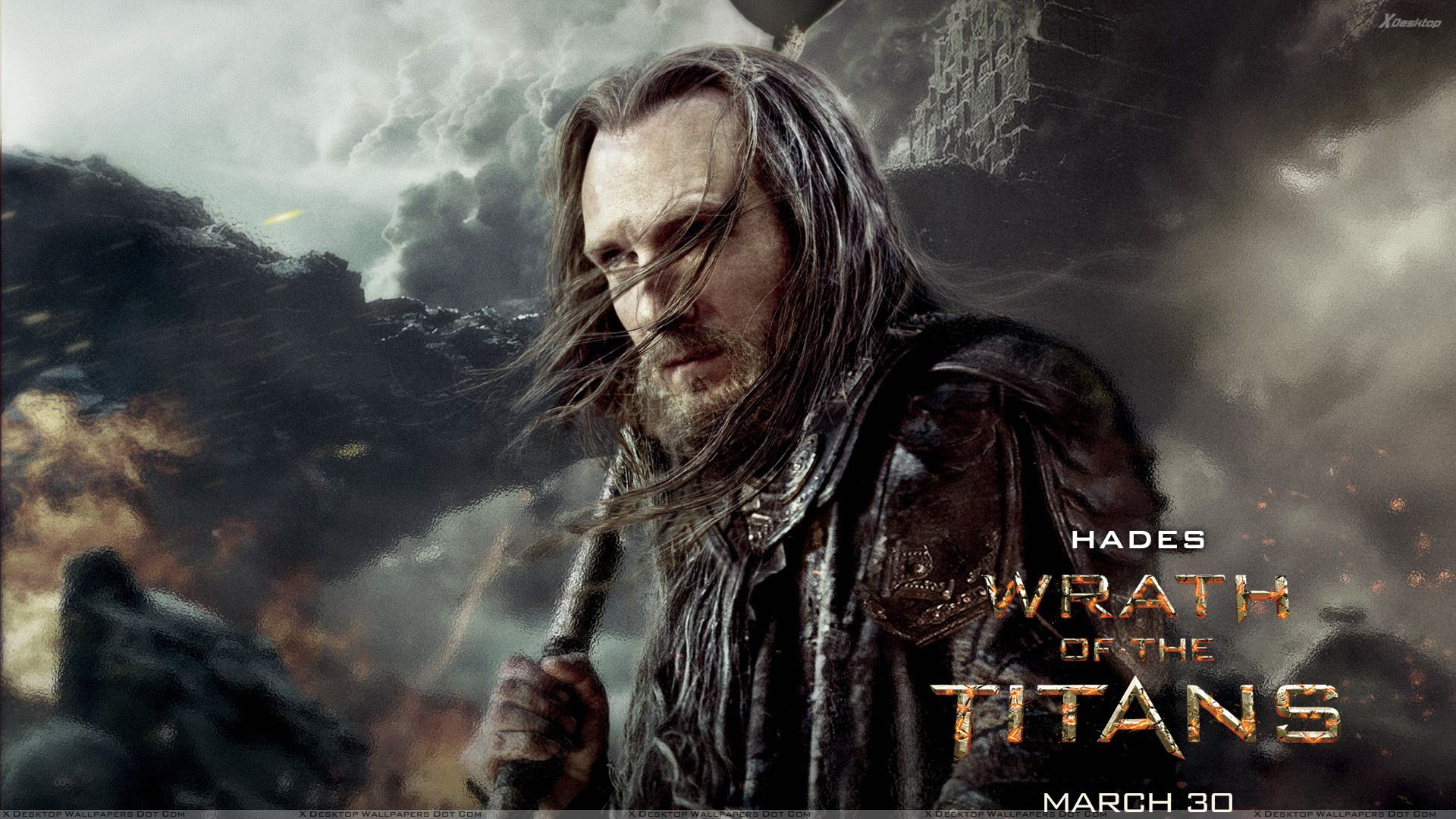 Wrath Of The Titans Ralph Fiennes As Hades Wallpaper