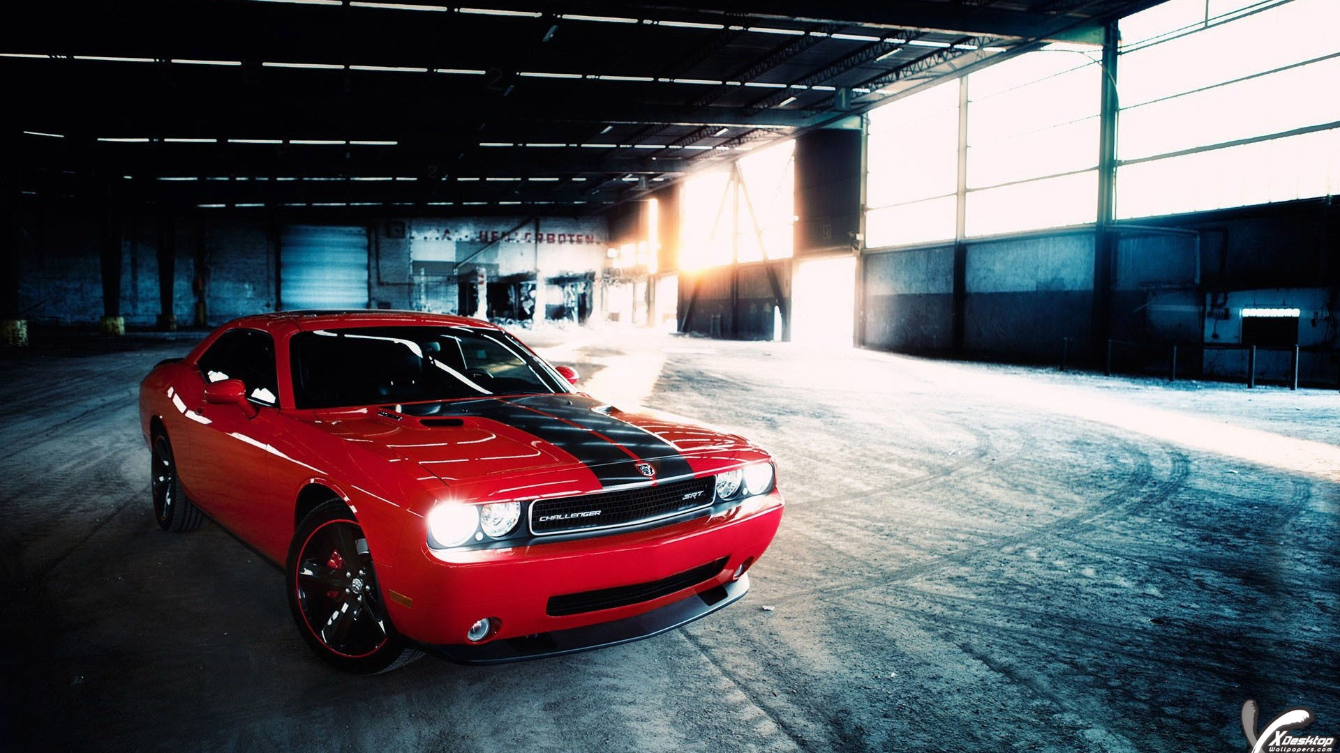 Dodge Challenger SRT Looking Awesome In Red